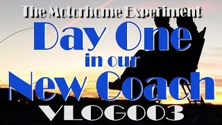 RV Living: Day One In Our Motorhome | Lake Mead National Recreation Area | VLOG003