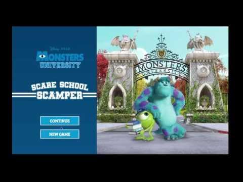 Disney Pixar Monsters Inc University Halloween Episode 2 Fun Baby Fun Fun