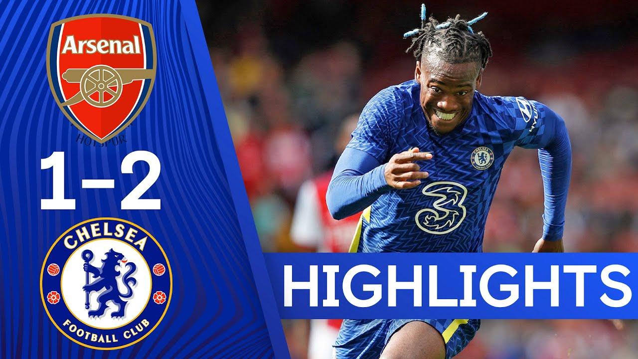 Arsenal 12 Chelsea  Havertz u0026 Abraham Find The Net As Blues Win London Derby  Highlights