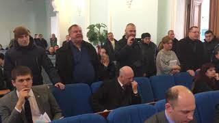 Бійка під час сесії Житомирської міської ради