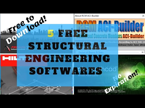 5 Free Licensed Structural Engineering Software With No Expiration | Free Software Downloads