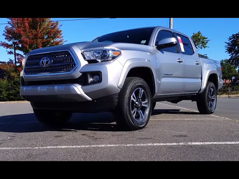2016 Toyota Tacoma Trd Sport Start Up Exhaust And In Depth Review