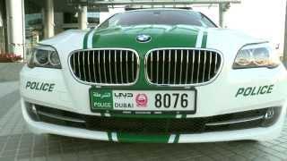 التصميم الجديد لدوريات شرطة دبي Dubai Police Patrol Cars New Design