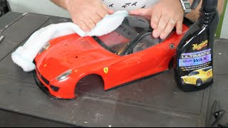 How to Restore an RC Body - UrbanRcLA