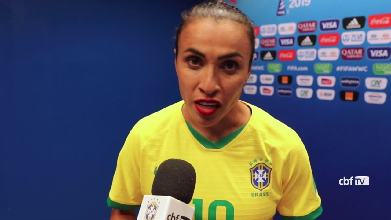 SELEÇÃO FEMININA: MARTA agradece APOIO da TORCIDA BRASILEIRA na Copa do Mundo 2019