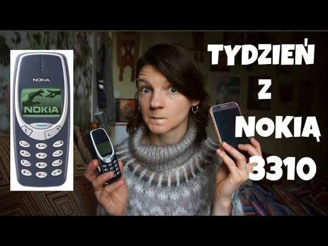 NOKIA 3310 - TYDZIEŃ BEZ SMARTPHONA