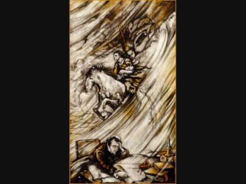 der erlkonig analysis Es ist der vater mit seinem kind  erlkönig hat mir ein leids getan 8 dem vater grauset's, er reitet geschwind, er hält in den armen das ächzende kind,.