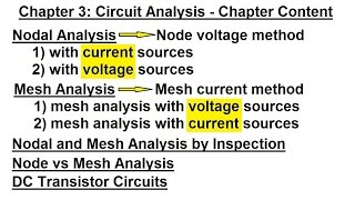 ELECTRICAL ENGINEERING 3 CIRCUIT ANALYSIS