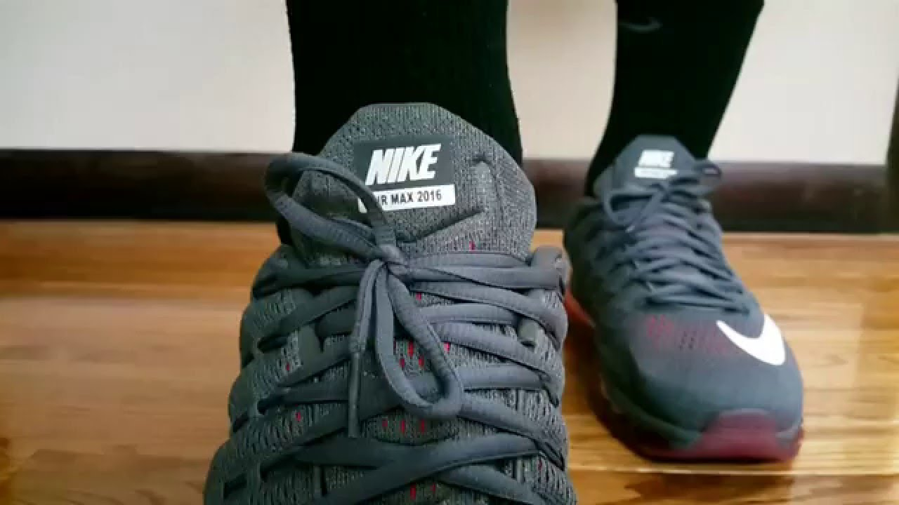 mens nike air max 2016 review