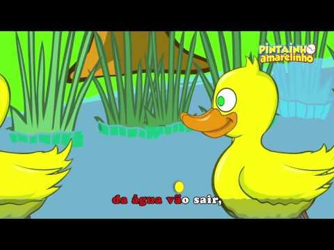 Pintainho Amarelinho - Todos Os Patinhos (Vídeo Oficial)