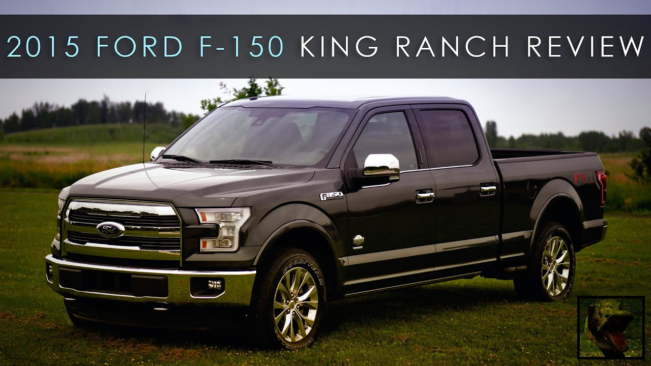 Review 2015 ford f 150 king ranch less weight less problems youtube