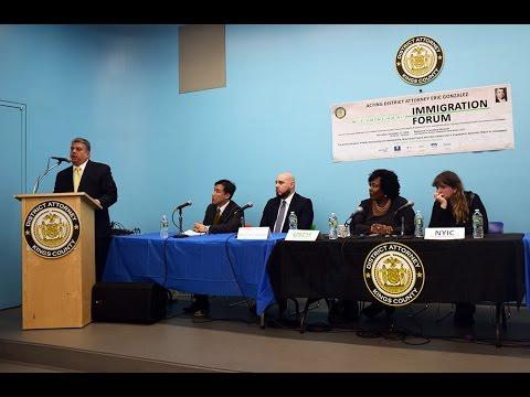 Brooklyn Immigration Forum, Dec. 17, 2016