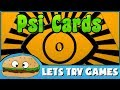 PSI CARDS 🔮 Psychic Training For Fools 🍔 Lets Try Games 🍔
