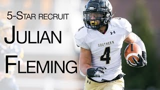 Julian Fleming highlights: 5-Star talks recruiting, Penn State, and more