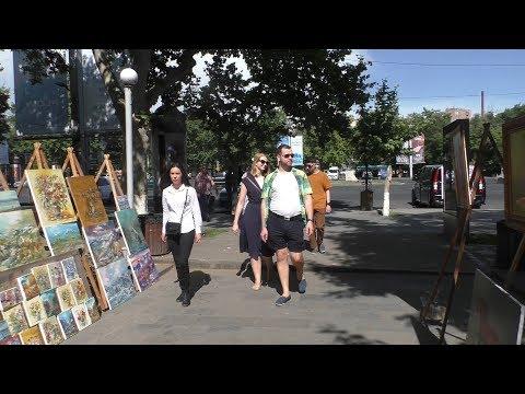 Вернисаж картин, Гранатовый сок, Yerevan, 02.06.19, (на рус.), Video-1.