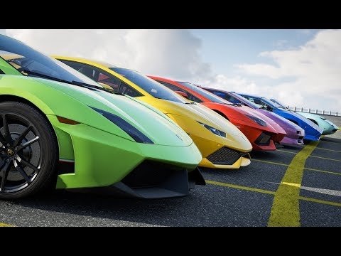 All Lamborghinis Forza Horizon 3 Youtube