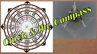 """""""Sacred"""" Geometry of the Clock, Compass & Precession HOW TO DRAW"""