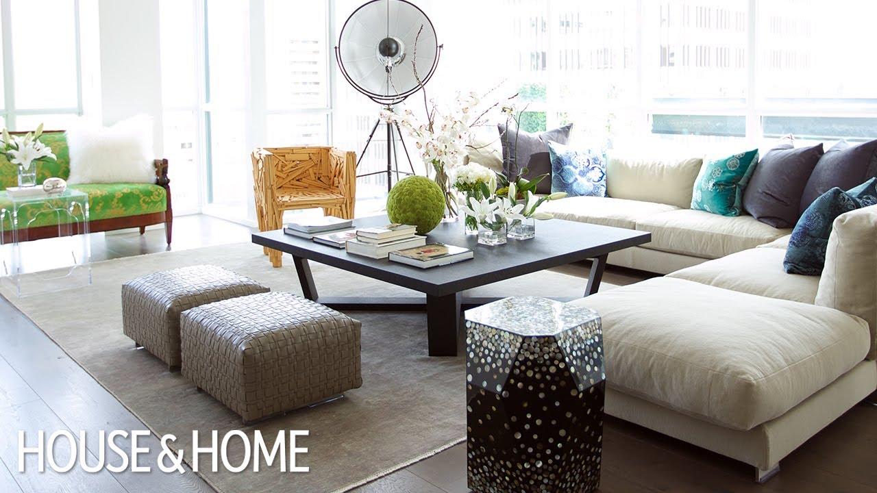 interior design colourful modern condo penthouse youtube