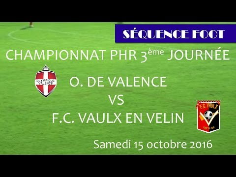 Séquence Foot - OV/Vaulx en Velin 15 10 2016