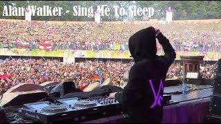 Alan Walker - Sing Me To Sleep Live Tomorrowland 2017