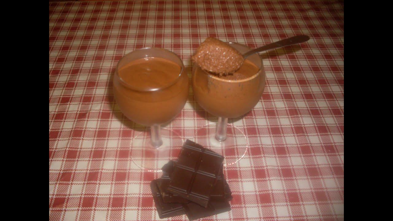 Comment faire la vraie recette de la mousse au chocolat maison youtube - Mousse au chocolat maison ...