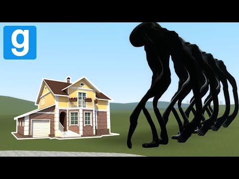 BREAKING NEWS VS HOUSES! - Garry's mod sandbox