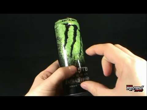 Random Spot - Monster Energy Nitrous Technology Extra Strength Super Dry