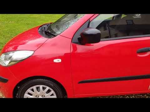 2010 Hyundai i10 5dr + £30 Road Tax
