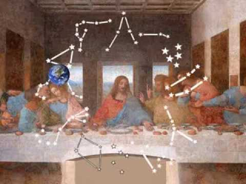 davincis 12 apostles are allegory of sunearths 12 orbital zodiac constellations youtube