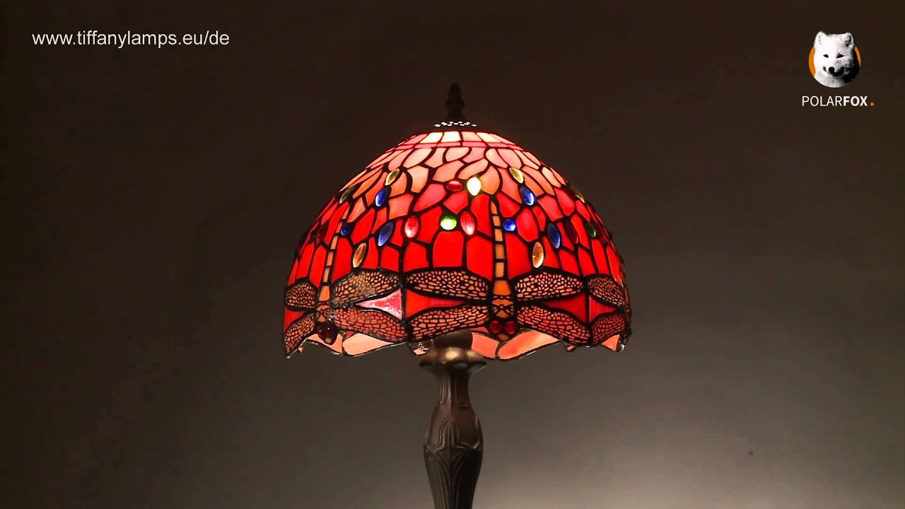 Tiffany lampe dragonfly tiffanylamps eu de youtube