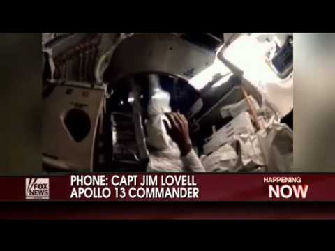 Astronaut Jim Lovell - Interview on Obama Cuts for NASA (April 14, 2010)