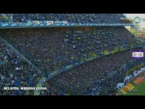 Gol de Silva. Relatos de Mariano Closs (Boca 1:1 River)