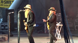 ZZ Top live at Loreley, St. Goarshausen, Germany, 9.7.2017 - Waitin' for the bus