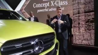 TN Autos Programa 112 | Lanzamiento Mercedes Benz Concept Clase X