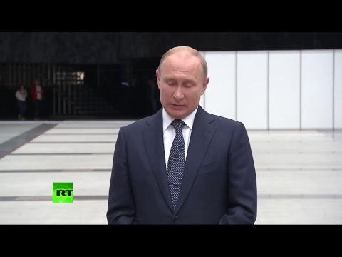 Пресс-подход Владимира Путина по итогам прямой линии