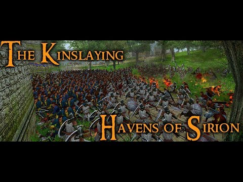 -- SACK OF THE HAVENS OF SIRION--  The Kinslayings Historica
