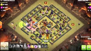 clash of clans best defence for level 10 town hall 2016