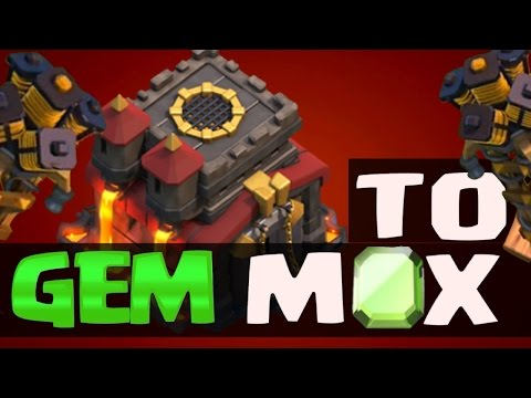 Gem To Max - Clash of Clans - GEMMING MAX XBOWS, MAX TESLAS, MAX CLAN CASTLE