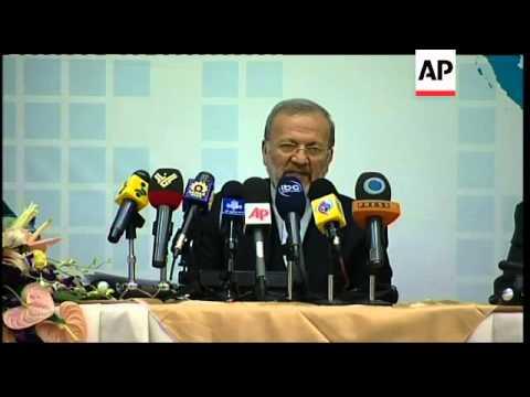 Iran FM Mottaki comment on upcoming nuclear talks in Turkey