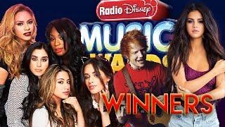 winners radio disney music awards 2016