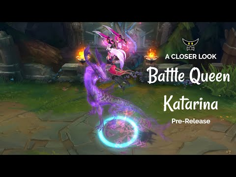 Battle Queen Katarina Legendary Skin (Pre-Release)