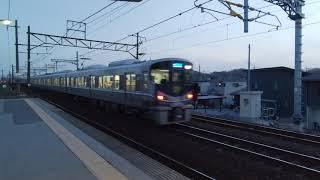 JR西日本 琵琶湖線 新快速電車 4K撮影