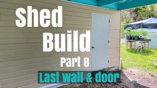 Shed Build Part 8