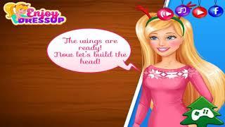As Barbie is ready for Christmas! КАК БАРБИ ГОТОВИЛАСЬ К РОЖДЕСТВУ!