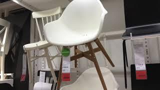 Рассмотрим все стулья в магазине ИКЕА. Ассортимент, цены, качество, какие цвета и т.д. Цены разные, виды тоже,...