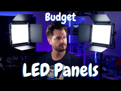 Best Lighting For Twitch Streaming - Neewer 660 LED Light Panels