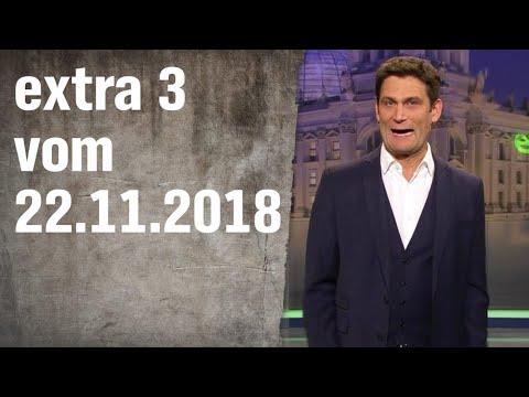 Extra 3 vom 22.11.2018 | extra 3 | NDR