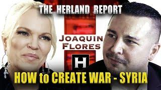 #Suriye savaş oluşturma Joaquin Flores: - Herland Raporu TV
