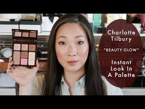 Charlotte Tilbury Instant Look In A Palette Beauty Glow - Review Swatches & Demo
