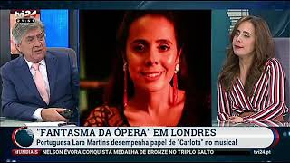 Interview with Henrique Garcia at the  Portuguese TV Channel TVI